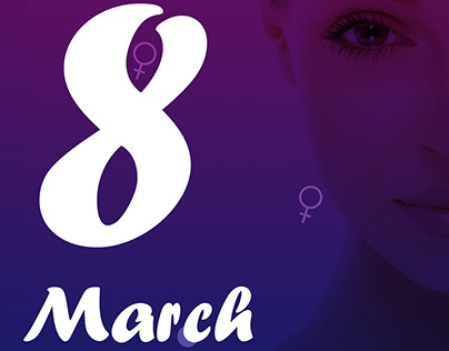 Womens day mailer design