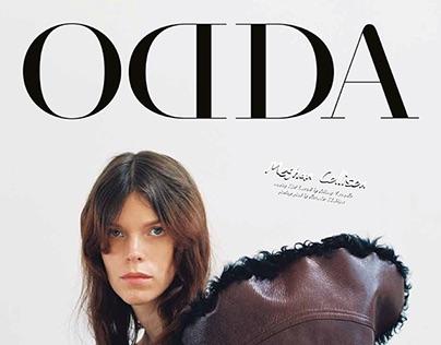 ODDA 13 (Fashion Editoral/Writing)