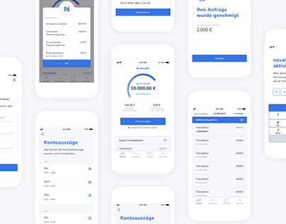 German mobile-first bank - Android & iOS app