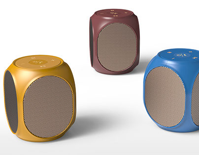 Portable Bluetooth Speaker -- Magic Cube