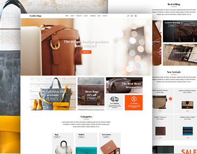 Leather Bags - Online Shop