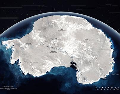 去你的南極 Go! Go! South Pole   地圖設計