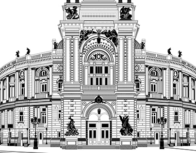 Back sides for credit cards. Sights of Odessa