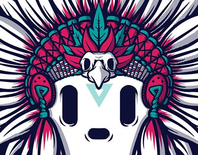 Indio #4 - Wacom Illustration