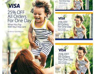 Visa Discount Campaign - Sprii UAE