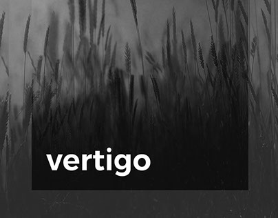 Vertigo - an experimental design and photography zine