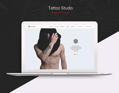 ZBS Tattoo Studio Website