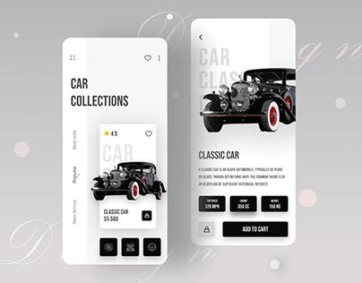 Car Ecommerce App UI