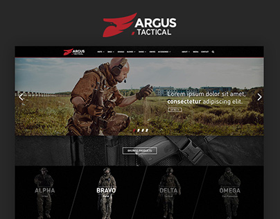 Argus Tactical – Defence Equipments
