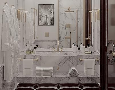 Visualisation of the bathroom