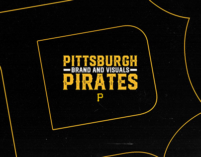 Pittsburgh Pirates: Brand and Visuals Concept