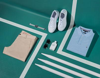 Fashion your Sport // Fashion Styling // Flatlay