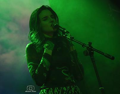 Concierto de Rizha en Madrid (sala joy, 2019)