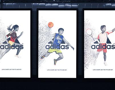 Adidas – Print Advertising