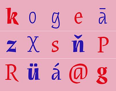 Síncopa (font family)