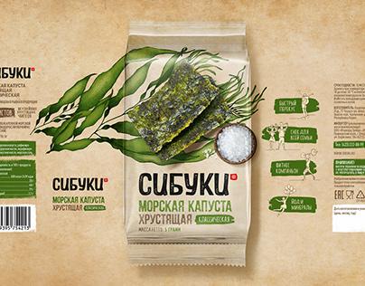 SIBUKI | Seaweed Snack