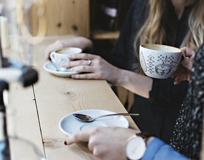 Start Your Morning with Fresh Coffee Mockups