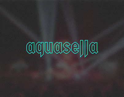 Rediseño de identidad para el festival Aquasella