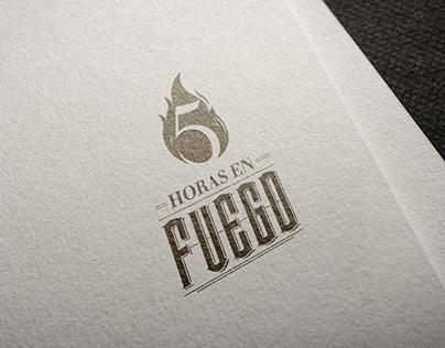 5 Horas en Fuego - Brand Identity