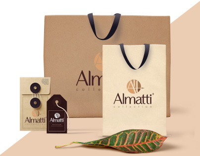 "Logo & Catalog for clothing stores ""Almatti"""