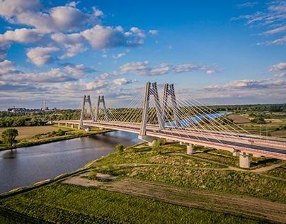 Macharski Bridge in Krakow