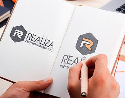 Logo + Papelaria - Realiza Prestação de Serviços