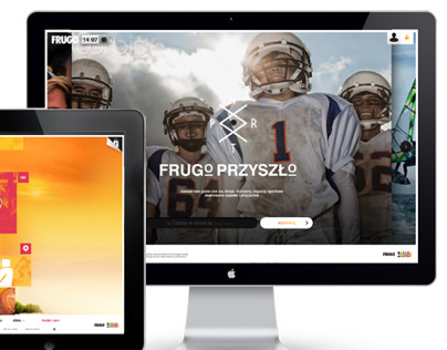 Party, with Frugo. Web proposal.
