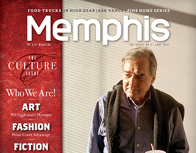 Memphis magazine, William Eggleston feature, 2012