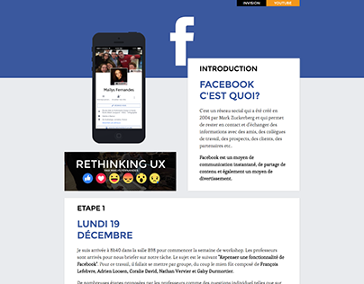 Post Facebook | RETHINKING-UX