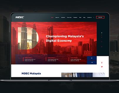 MDEC Malaysia Web Revamp