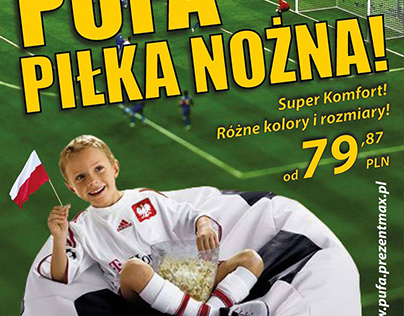 Flyer / Ulotka Pufa Piłka