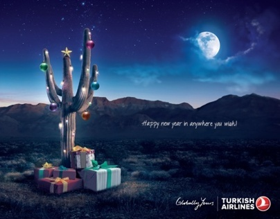 Turkish Airlines, New Year Print Campaign