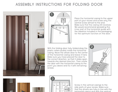 Design Assembly Instructions for Folding Doors