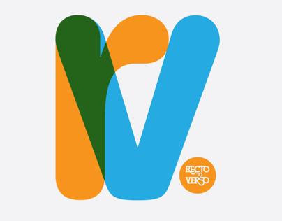 Recto Verso Exhibition 2011 - Brand Identity