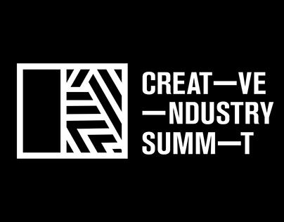 Creative Industry Summit 2018 theme