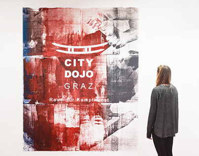 Mural for City Dojo Graz