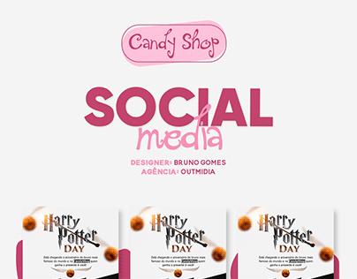 Social Media - CandyShop