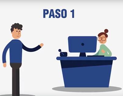 Video animado 2D - Mediservis pagos Baloto