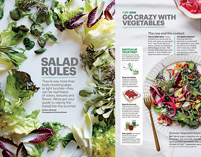 SELF magazine / Food / 2010-2104