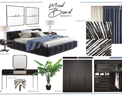 Mood Boards For A Residential Apartment