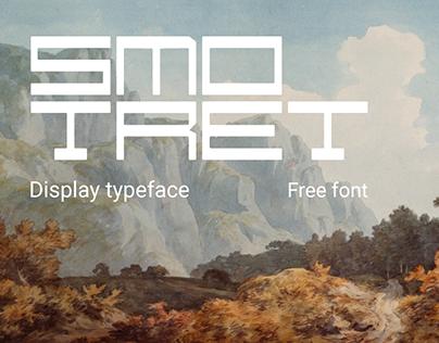 Smotret - Free Display Font