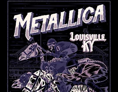 Metallica Poster/T-shirt design