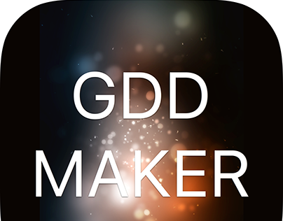 GDD Maker IOS App