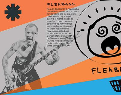 Flyer - Flea Bass