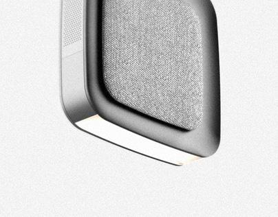 Ceiling Air purifier objet _ CEILI AiR