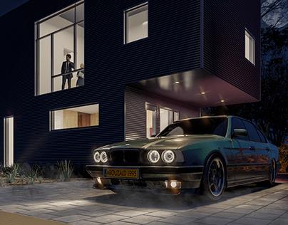BMW 540i - CGI
