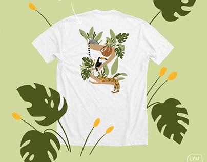 Jungle apparel design