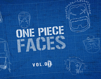 One Piece Faces Illustrations -Vol .01