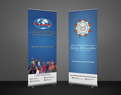 Rollup Banner for CIOFF® El Salvador