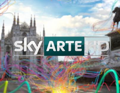 Sky Arte HD Channel Branding 2012